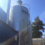 Fristående bioenergi panncentral Kobia i Tyresö