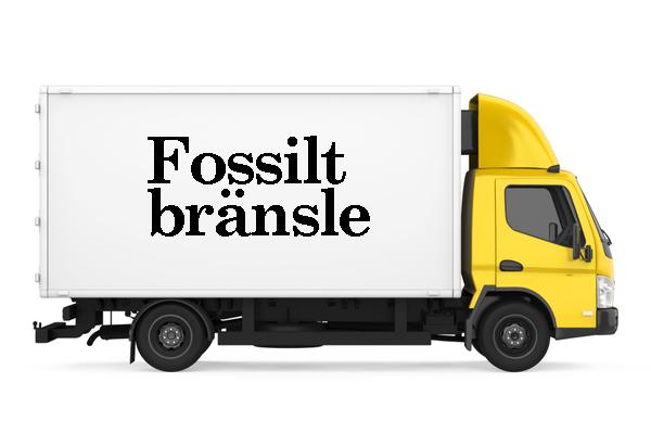 Lastbil Fossilt bränsle